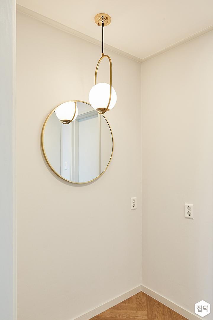화이트,골드,뉴클래식,럭셔리,방,펜던트조명,거울