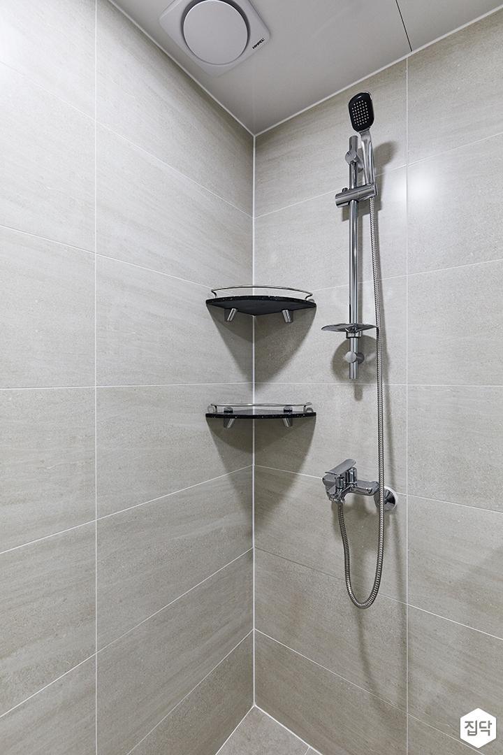 블랙,아이보리,모던,내추럴,욕실,샤워기