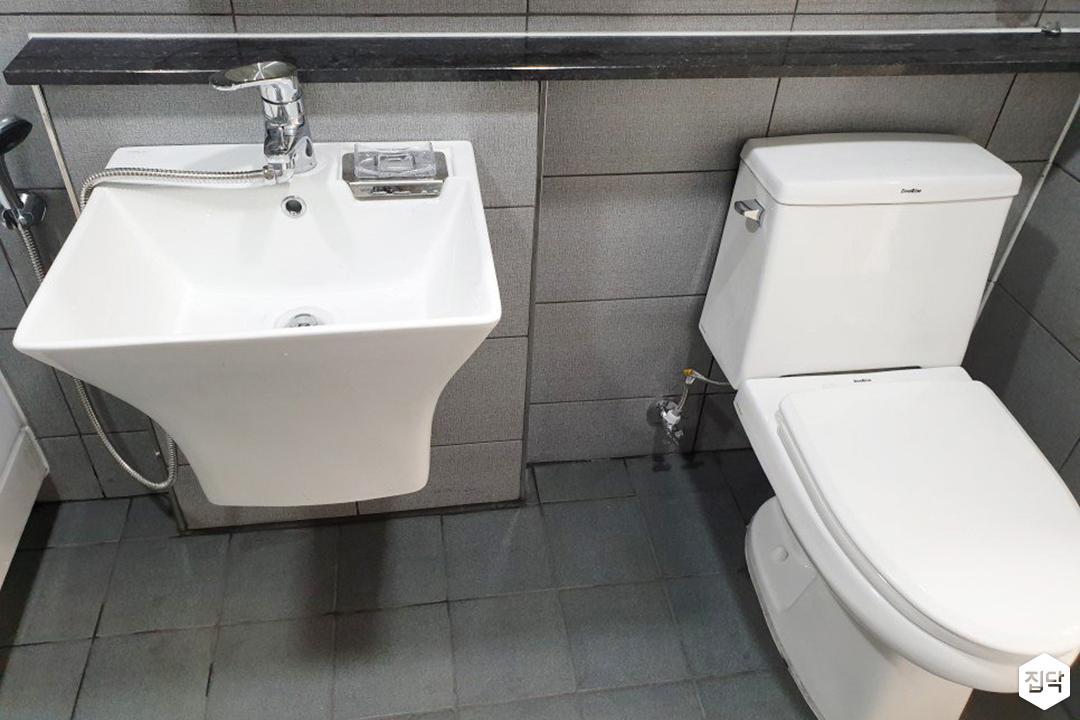 그레이,내추럴,욕실,세면대