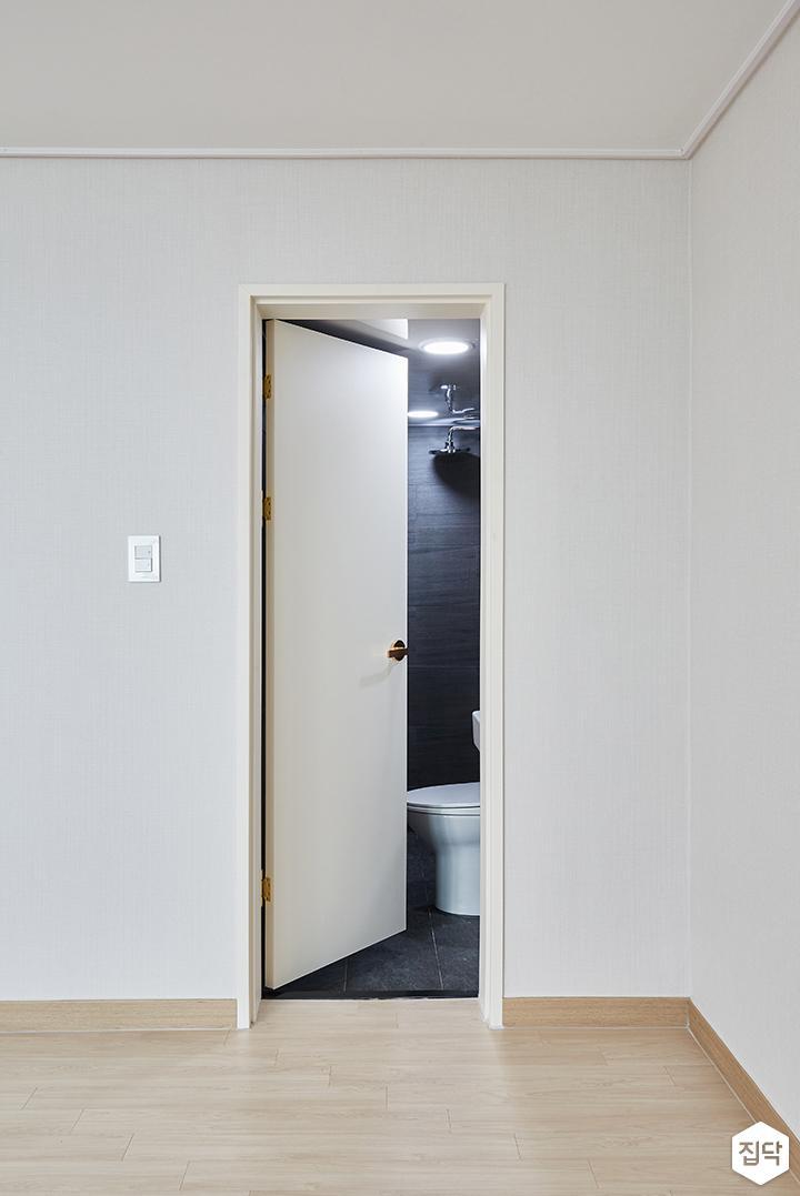 화이트,모던,심플,안방,욕실