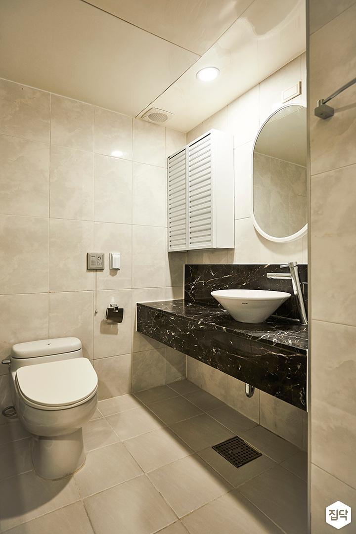 뉴클래식,욕실,세면대,거울