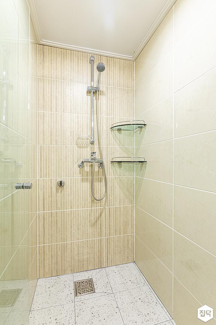 그린,욕실,내추럴,샤워기,코너선반