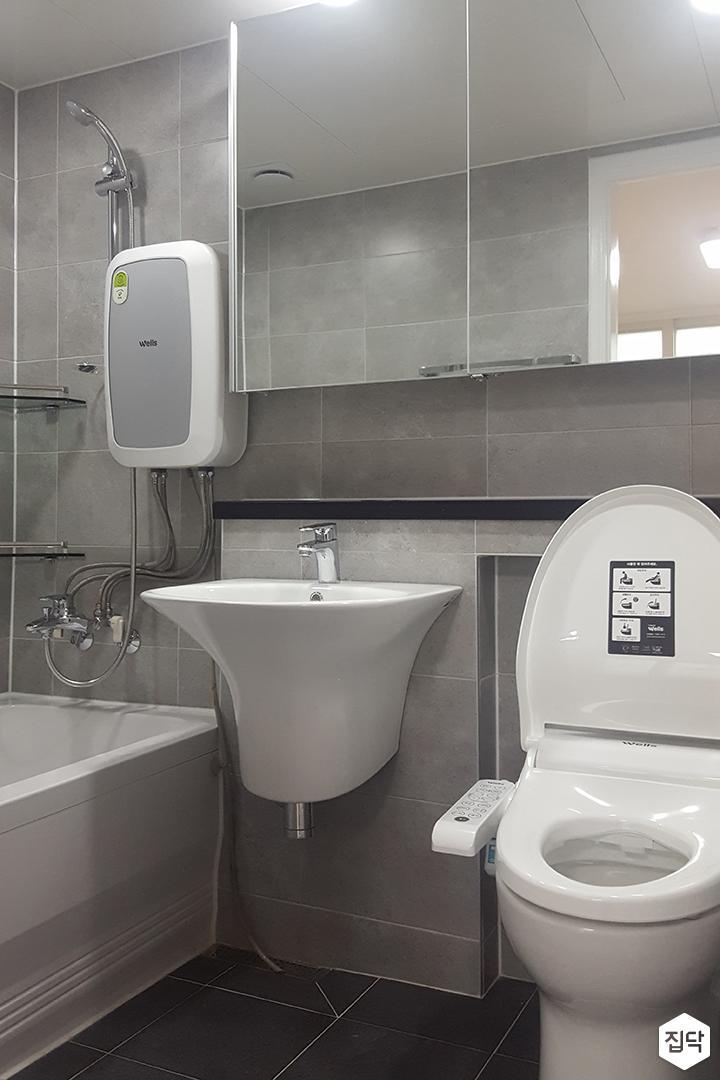 욕실,세면대,거울