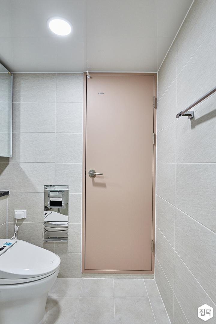 그레이,핑크,모던,심플,욕실,원형직부등