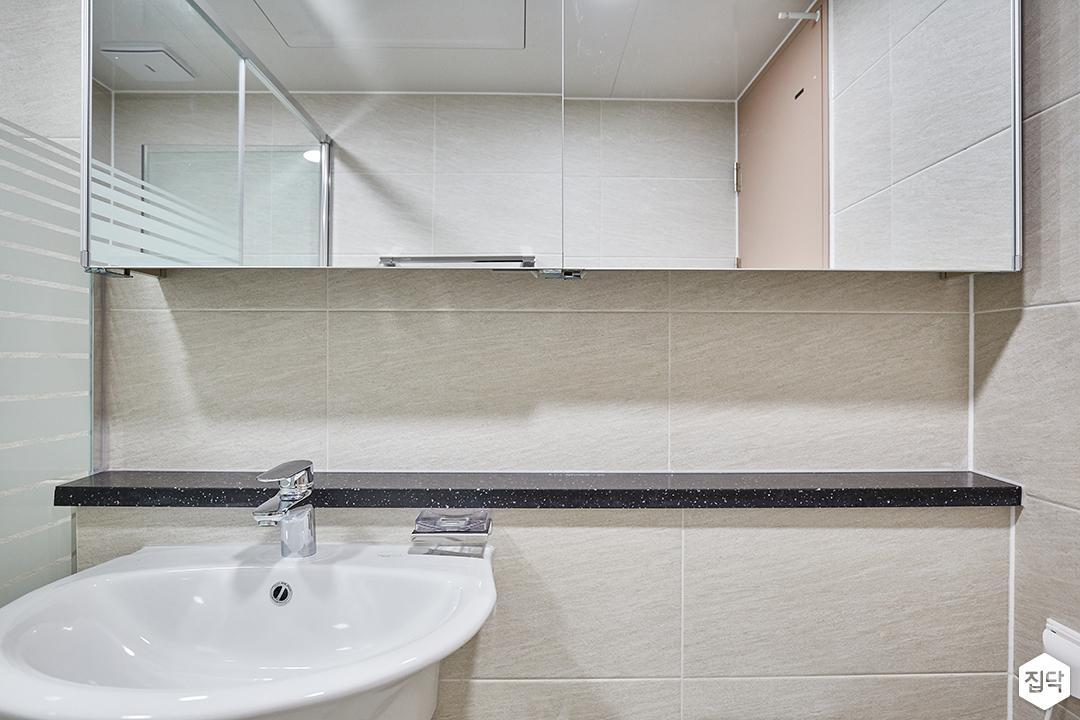 그레이,모던,심플,욕실,세면대,수납장,거울