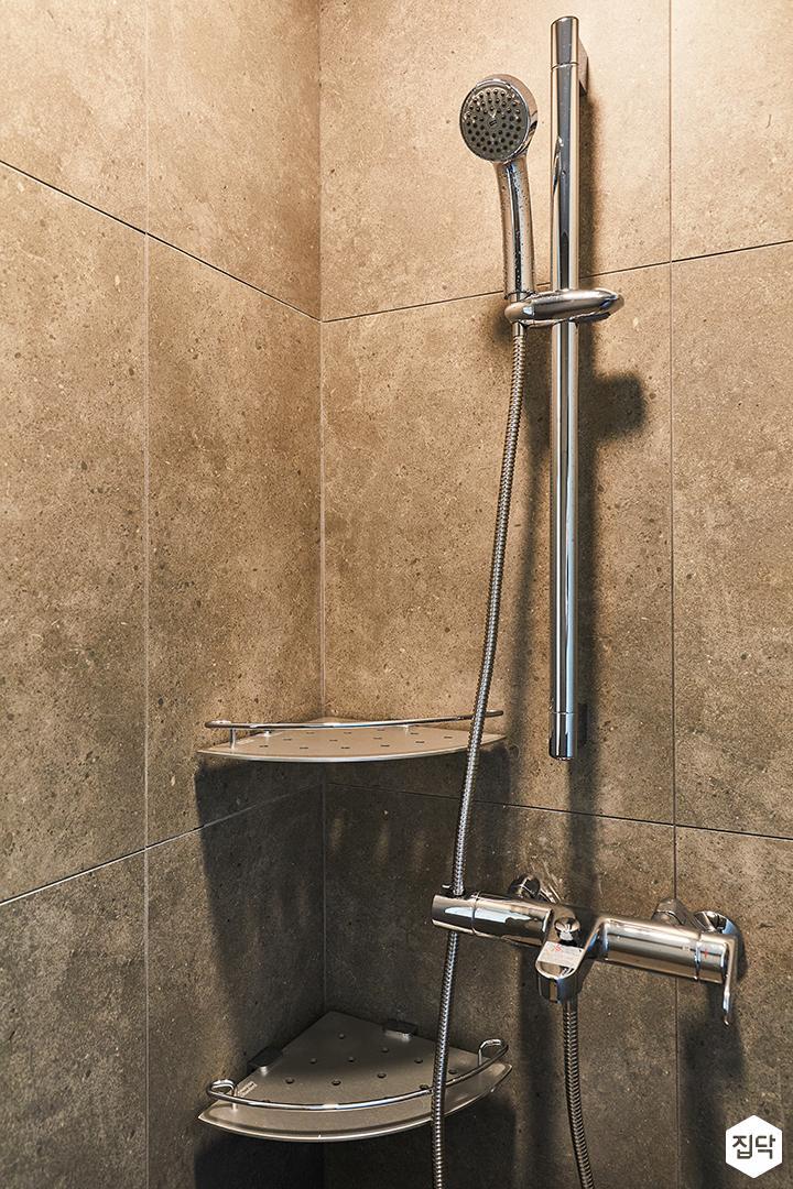 그레이,모던,빈티지,욕실,포세린,샤워기