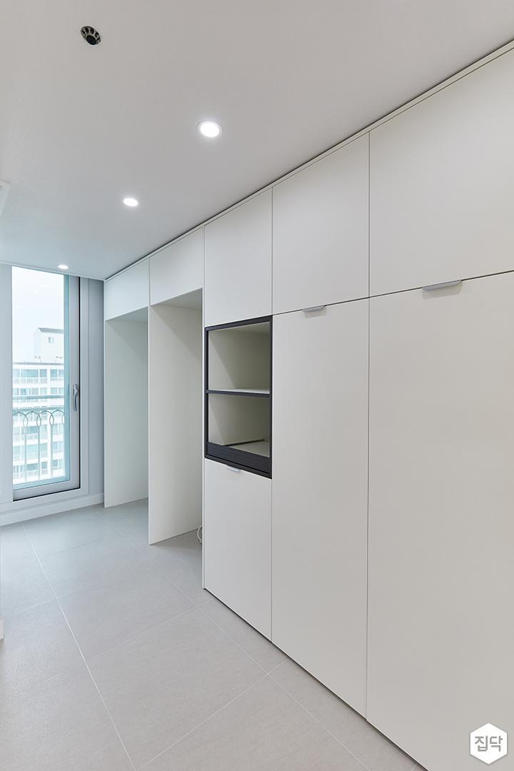 화이트,모던,내추럴,주방,매립등,수납장,냉장고장