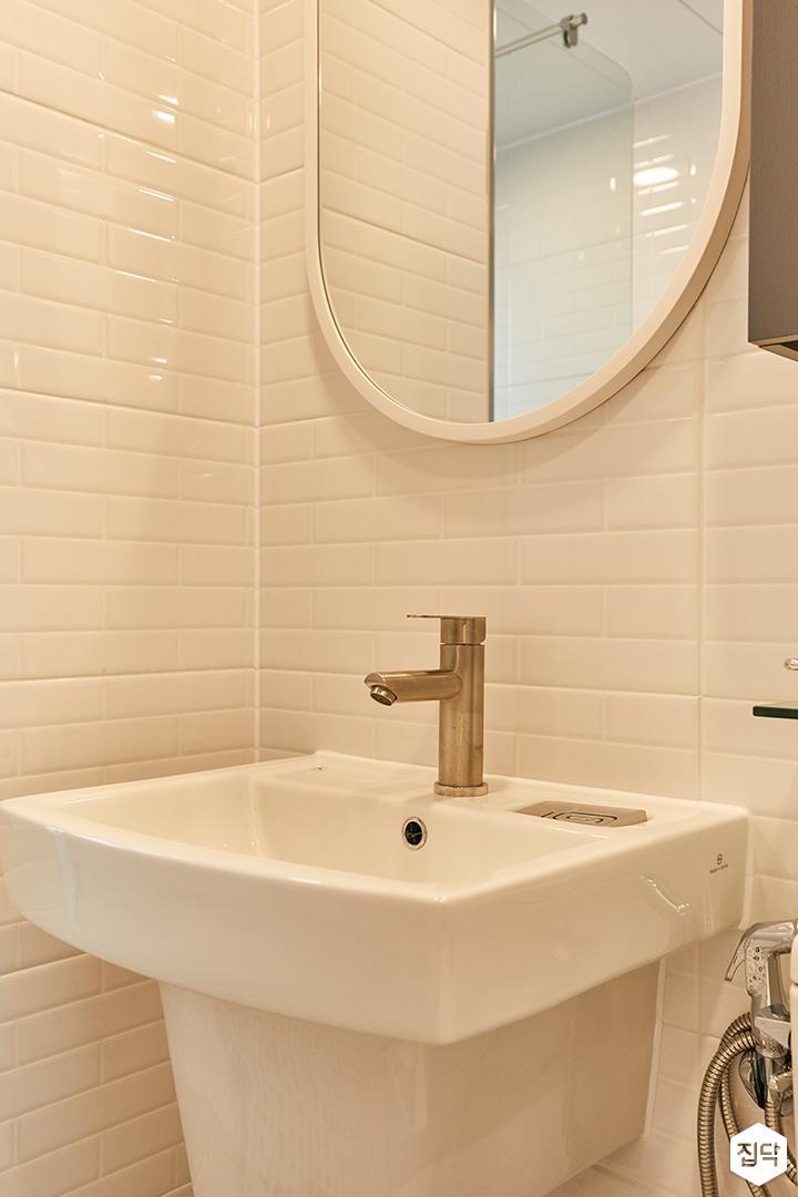 화이트,모던,내추럴,욕실,세면대,거울