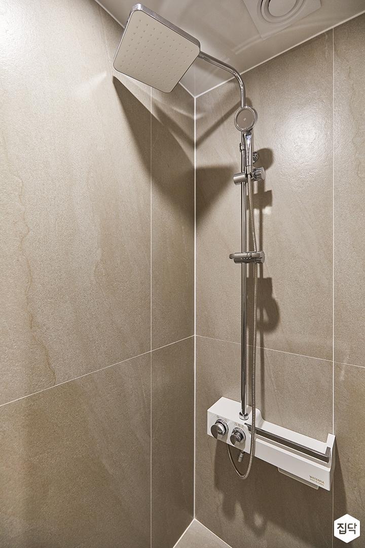 화이트,아이보리,모던,뉴클래식,욕실,포세린,샤워기,욕조
