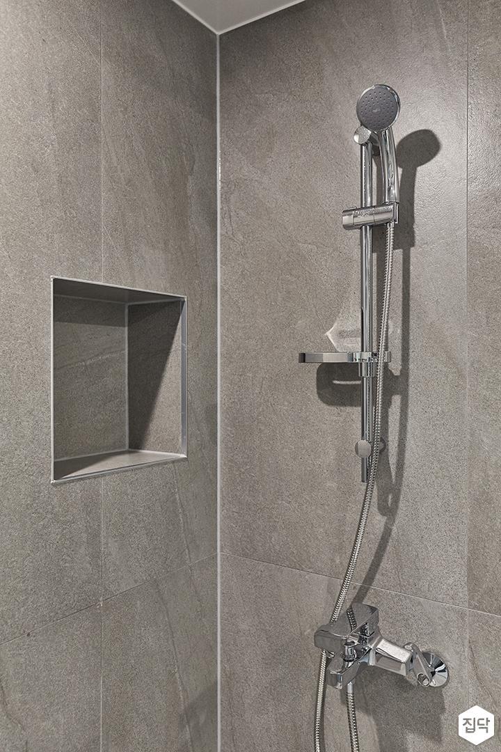 그레이,모던,뉴클래식,욕실,포세린,샤워기