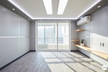 반려동물이 행복한 28평 모던 인테리어 28평,모던,그레이,아파트,노원구