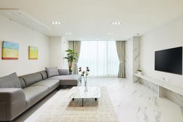 클래식 모던에 미니멀로 완성한 30평대 아파트 인테리어 마블패턴,스페셜스타일,고풍스러운,집값오르는인테리어,고급소재,맞춤장설치,영등포,대림동,34평