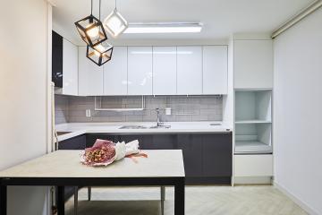 공간을 똑똑하게 활용한 34평대 아파트 인테리어 헤링본패턴,살기좋은지역,합리적인,생활패턴에맞춘,불편함없이,서울,중랑구,면목동,25평