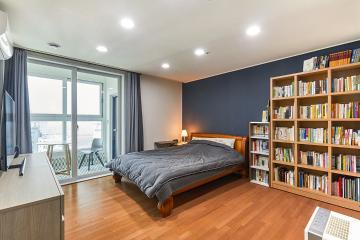 집안 곳곳이 서재, 아이들의 독서습관을 길러줄 40평대 아파트 인테리어 가성비좋은,생활패턴에맞춘,실용성중시,이유있는변신,화이트,브라운,그레이,인천,청라동,43평,아파트