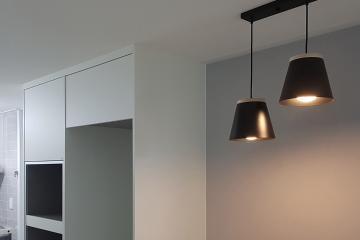 조명으로 공간에 포인트를 더한 30평대 아파트 인테리어
