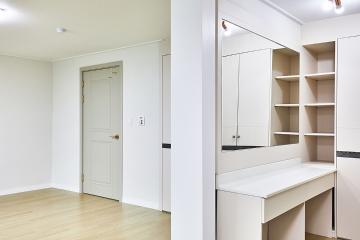 공간 활용은 이렇게! 수납공간 가득한 40평대 아파트 인테리어
