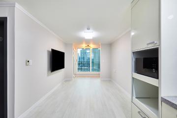 필요한 부분만 깔끔하게 은평구 15평 아파트 인테리어 15평,화이트,블랙,그레이,모던,심플,아파트,은평구,응암동