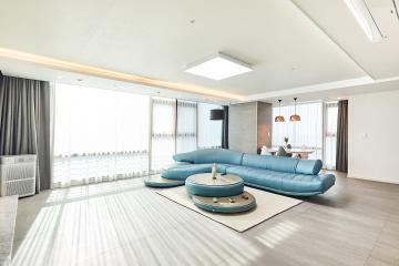 누구나 꿈꾸는 드림 하우스! 56평 아파트 인테리어 56평,아파트,화이트,주상복합,양천구,목동,현대하이페리온