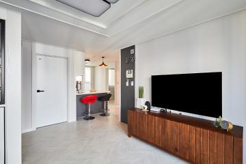 과하지 않게 딱 필요한 만큼만. 23평 아파트 인테리어 23평,아파트,폴딩도어,경기,시흥시,정왕동,주공4단지