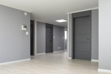 그레이 톤으로 중심을 잡다, 32평 그레이모던 인테리어 32평,그레이,모던,아파트,경북,경산시
