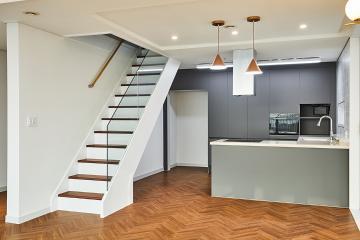 복층까지 깔끔하게! 경기 광명시 45평 아파트 인테리어 45평,그레이,모던,경기,광명,아파트