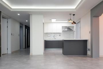 욕실과 주방이 새롭게 태어난  30평대 아파트 인테리어   36평,그레이,모던,아파트,대구,달서구