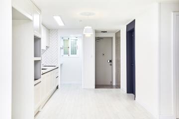 19평이 이렇게 넓다.  아파트,화이트,19평,양천구,목동,헤링본