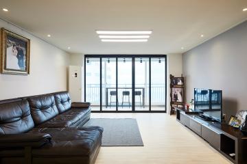 올바른 발코니 활용법. 38평 아파트 인테리어