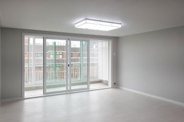 그레이와 블랙컬러로 선보인 심플 모던, 32평 아파트 인테리어 32평,그레이,블랙,심플,모던,인천,부평구