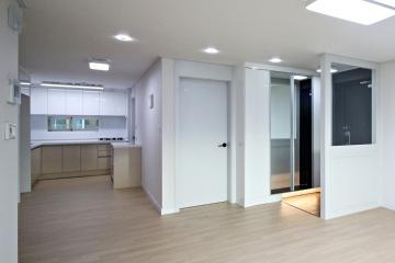 모던하면서 따뜻함이 묻어나는 33평 아파트 33평,아파트,화이트,모던,금호동,성동구