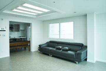 중후한 그레이톤으로 연출한 32평 아파트 인테리어 32평,그레이,모던,아파트,대구,달성군