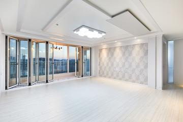 독특한 우물천장에 고급스러운 아트월, 43평 아파트 인테리어 43평,아파트,도봉구,창동,럭셔리