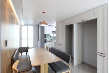 내츄럴 감성을 가득 담아, 38평 아파트 인테리어 38평,내츄럴,모던,아파트,화이트,경기,고양시,일산