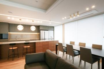 공간마다 명확한 목적이 있는 65평 아파트 인테리어 65평,모던,내츄럴,아파트,강남구,도곡동,타워팰리스