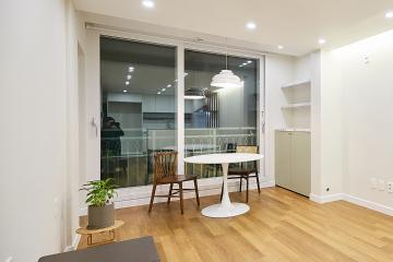 우드와 웜컬러의 조합으로 편안하고 휴식같은 집, 24평 아파트 인테리어 24평,내츄럴,모던,아파트,우드,화이트,네이비,관악구,봉천동