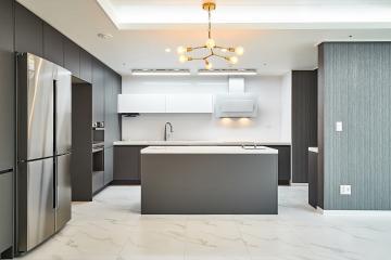 그레이 컨셉으로 도시적인 용인 포곡 삼성쉐르빌 아파트 인테리어