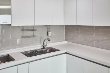 화이트 컬러를 꼭 빼닮은 맑은 공간, 23평 아파트 인테리어 23평,화이트,심플,부천시,소사본동