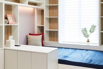 맞춤 가구로 사용자의 편의성을 높인 40평 아파트 인테리어 40평,그레이,모던,아파트,경기,옹인,맞춤가구