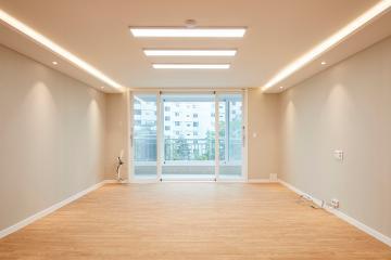 감미롭고 따뜻한 분위기의 49평 아파트 인테리어 49평,화이트,심플,아파트,송파