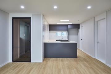 화이트&그레이의 찰떡궁합, 32평 아파트 인테리어