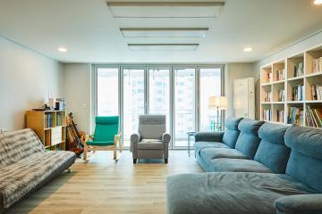아늑하고 따스한 내츄럴 모던 스타일 48평 아파트 인테리어 48평,화이트,모던,아파트,의왕