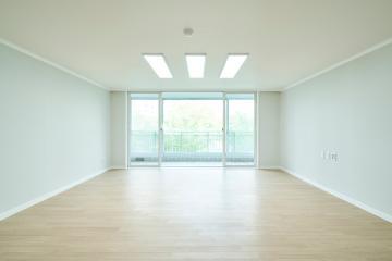 순백의 깔끔하고 환한 공간을 원한다면 이렇게, 49평 아파트 인테리어 49평,화이트,심플,아파트,용인