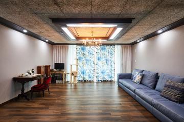 중후한 매력의 빈티지 클래식 55평 아파트 인테리어