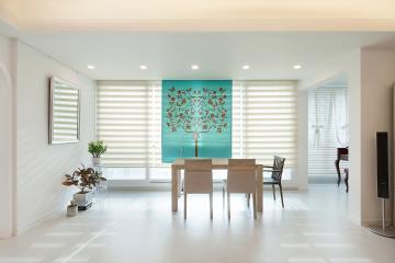 친환경 페인트로 건강한 집, 51평 아파트 인테리어 51평,화이트,모던,아파트,용인,수지