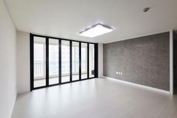 그레이 아트월로 현대적인 감각의 32평 아파트 인테리어 32평,그레이,모던,아파트,경기,광주