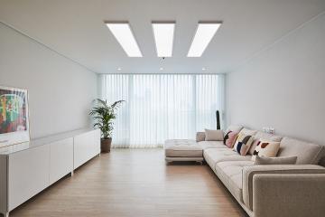 보기만 해도 편안해지는 내츄럴 화이트 톤 32평 아파트 인테리어 32평,화이트,심플,아파트,경기,화성