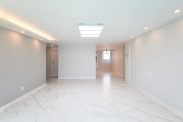 아늑함과 세련미를 한 번에 갖춘 44평 아파트 인테리어 44평,화이트,심플,아파트,경기,부천