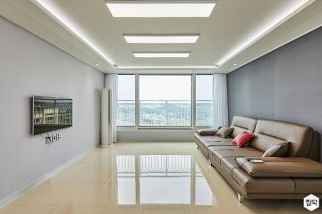 심플한 게 매력적이야, 33평 아파트 인테리어 33평,화이트,심플,화성시,동탄