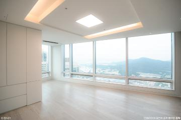 전망 좋은 거실이 두개나? 타워팰리스의 고급 인테리어 79평,아파트,모던,심플,도곡동