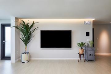 모던함과 아늑함의 조화 32평 아파트 인테리어 32평,화이트,모던,송파,거여동